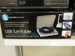Innovative Technology  USB Turntable
