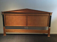King headboard and two side tables