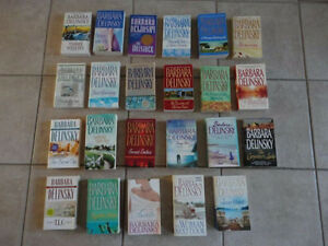 Lots of romance novel pleasure/leisure reading paperback