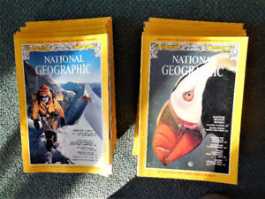 NATIONAL GEOGRAPHIC MAGAZINES - 1979 set of 12