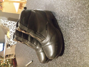 Winter horse riding boots