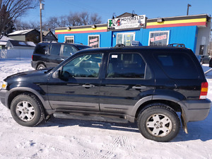 never involved in accident 2006 FORD ESCAPE 4WD XLT MODEL