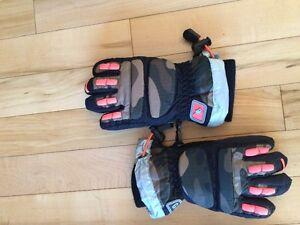 Kid winter gloves