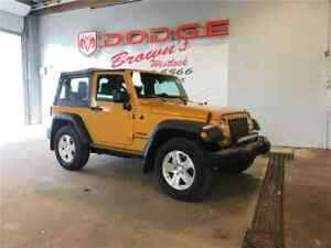2014 Jeep Wrangler Trail Rated Sport 4X4 / Remaining Warranty