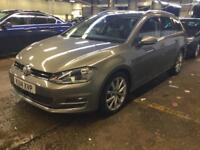 14 Volkswagen Golf Estate 2.0 GT TDI 150ps DSG GT Auto NAV MK7 FVWSH PX Welcome