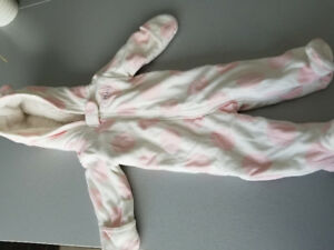 Carters 3 months baby girl winter bunting jacket