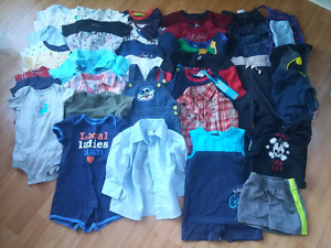 42 item boys clothing 6-12 months lot
