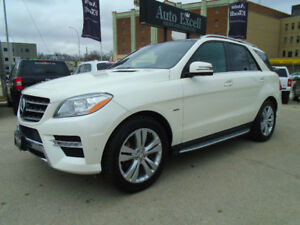 2012 Mercedes-Benz M-Class 350 Bluetec Diesel SUV, Crossover