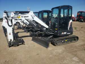 Bobcat Excavators | Find Heavy Equipment Near Me in Alberta : Trucks