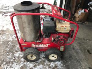 Dynablast hot water pressure washer