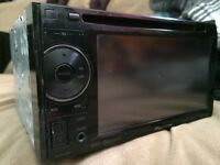 Pioneer double din touch screen deck