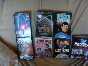4 star trek hardcover books