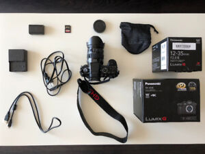 Panasonic Lumix GH5 + 12-35mm f/2.8 II + UV Filter + 64G SDXC