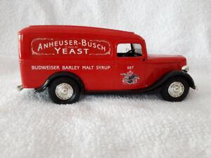 (16) 1936 Anheuser - Busch Yeast Ford Panel Die-Cast Metal Locki