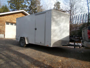 2018 enclosed 6'x12' ramp / cargo trailer / brand new / reduced