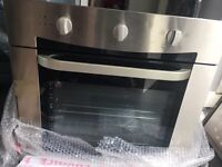 Brand new oven with hob
