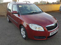 1 OWNER - SKODA ROOMSTER - 1.4 MPV - LOW MILEAGE