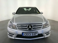 2013 MERCEDES-BENZ C220 AMG SPORT CDI BLUE-CY AUTOMATIC FINANCE PX WELCOME