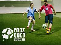 Fooz Coed Indoor Soccer League!
