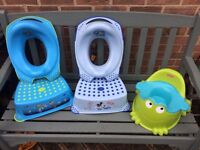 Potty, Toilet Training Seat and Matching Step