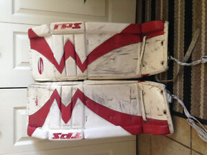 TPS Summit Goalie pads for $100