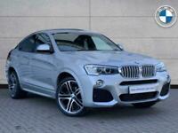 2014 BMW X4 SERIES X4 xDrive30d M Sport SUV Diesel Automatic