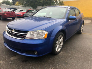 2013 DODGE AVENGER SXT 130646 KM LOADED CAR INSPECTED