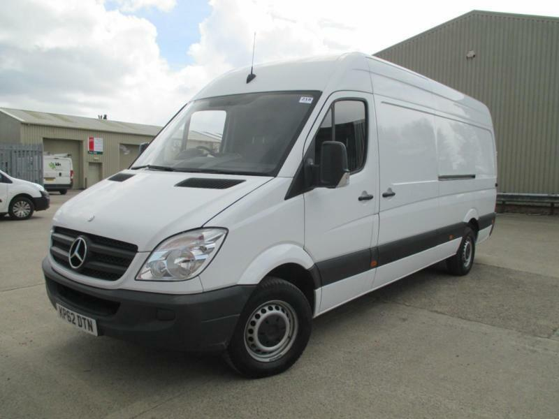 2012 Mercedes-Benz Sprinter 2.1TD 313CDI LWB 1 owner boarded in rear euro 5