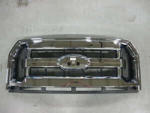 2017 (2015+) Ford F150 XLT chrome grille 1 day old