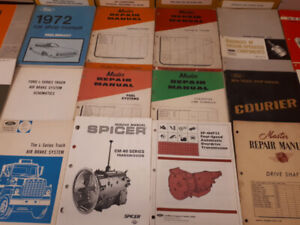 Garage Clearance - Shop Manual, Parts Books, and Catalogues
