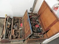 MASSIVE AMOUNT OF ANTIQUE HAND TOOLS SELLING ALL TOGETHER