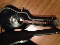 Cort guitar with case