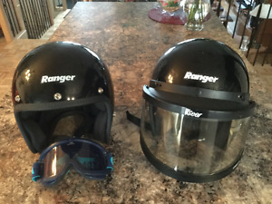 Deux casques Ranger snow series