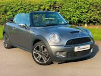 2009/09 Reg MINI Convertible 1.6 Cooper S 2dr Supercharged manual in grey PX