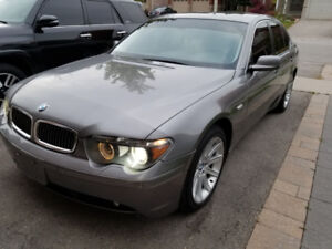 2005 BMW 745I MINT CONDITION!!! RICHMOND HILL, ON