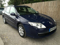 2008 08 Renault Laguna 2.0dCi 130 Expression 6 SPEED 55.4 MPG P/X