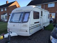 Avondale eagle 4 berth fixed bed caravan