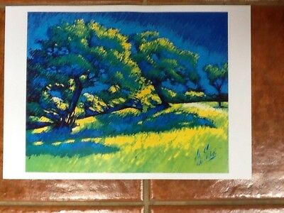 Orchard. Print Unmounted By Colin Evans.