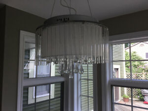 Teardrop chandelier for sale