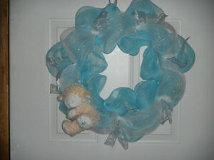 It's A Boy Wreath