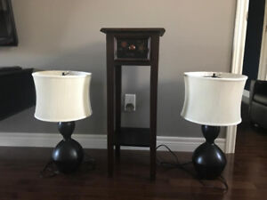 For Sale Lamps and Table
