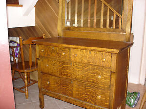 Antique Dresser on Castors