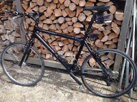 Mens / Gents urban / hybrid mountain bike carrera one 7005 aluminium .