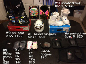 MISC SPORTS STUFF AND MANY OTHER ITEMS