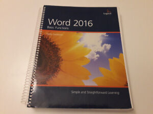 Word 2016 Basic Functions Office Administration Textbook