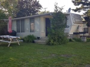 Park Trailer with Add-a-Room at Elim Lodge in the Kawarthas