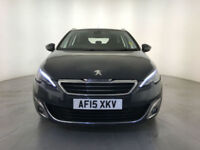 2015 PEUGEOT 308 ALLURE SW HDI ESTATE FREE ROAD TAX 1 OWNER SERVICE HISTORY