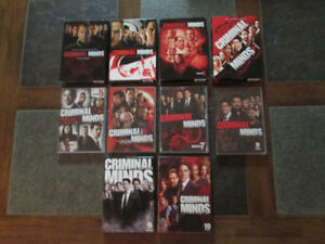Criminal Minds DVD Sets