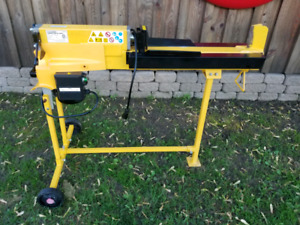 5 Ton Electric Hydraulic Log Splitter