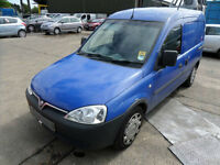 Vauxhall Combo 1.3CDTi+ 16v 2000 DAMAGED REPAIRABLE SALVAGE